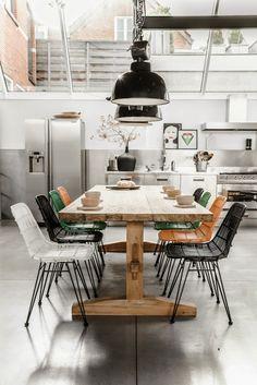 Think Decor, cocina y comedor en un mismo espacio