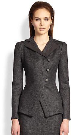 Armani Suits for Women Fashion 101, Suit Fashion, Fashion Outfits, Office Dresses For Women, Dresses For Work, Clothes For Women, Womens Dress Suits, Suits For Women, Office Fashion