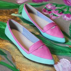 Charlesphilipshanghai candy color shoes