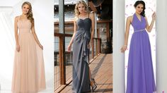 #Romance is In the Air: 14 Soft Chiffon #Dresses for Your Attendants | @DaVinciBridal #Blog #Bride #Wedding #Trends