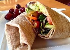 Healthy wrap recipes. They look and sound delicious!