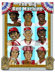 BRM Team - Heroes of Yesterday Gallery Cincinnati Reds Baseball, Pittsburgh Steelers, Dallas Cowboys, Sparky Anderson, Sports Illustrated Covers, Baseball Classic, Johnny Bench, Pete Rose, Star Wars