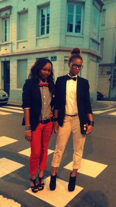 the-unfeminine-female: Androgyny at its finest... | genderqueer fashionista