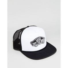 Vans Classic Patch Trucker In White VH2VYB2 ($30) ❤ liked on Polyvore featuring men's fashion, men's shoes, men's sneakers, white, mens boat shoes, mens white slip on sneakers, mens white slip on shoes, mens velcro strap sneakers and mens woven shoes