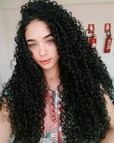 Uhair Peruvian Hair Kinky Curly 3 Bundles With Lace Frontal,Factory Direct Sale Human Curly Hair Extensions Kinky Curly Hair, Curly Hair Tips, Long Curly Hair, Curly Hair Styles, Natural Hair Styles, Long Natural Curls, Long Curls, Deep Curly, Pretty Hairstyles