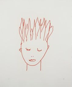 Louise Bourgeois - Your head is on fire, Print