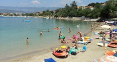 Sandy Beach Pecine - Silo, Krk Strand Camping, Hotels, Marketing, Sports, Ebay, Blue Flag, Regulatory Signs, Sport