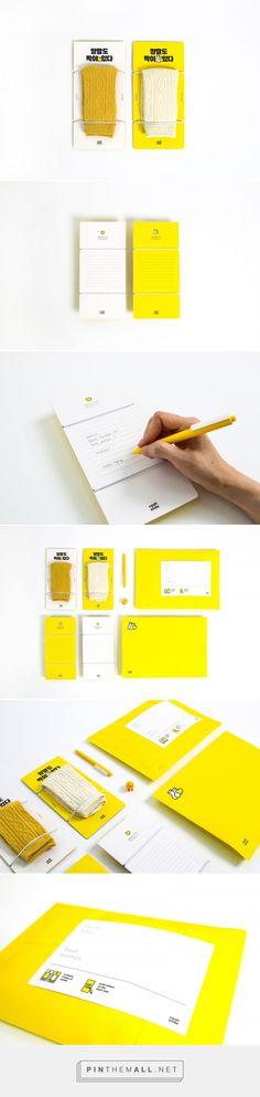 Letter Socks packaging design by Kim Hyunmi - http://www.packagingoftheworld.com/2017/11/letter-socks.html