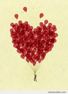 balloon heart - Google Search