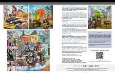 Fadiel Hermans in South African Artist Magazine South African Artists, Online Art, Art Gallery, Magazine, Painting, Art Museum, Painting Art, Magazines, Paintings