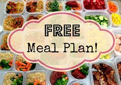 21 Day Fix ~ Meal Planning by Container, Grocery List & Sample Meal Plan!   :: lisa gennae ::