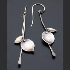 Ai Jewelry- Sterling Bamboo Leaf Earrings