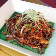 Flambeed Shangri-La Beef by Chef Martin Yan, Yan Can Can Cook