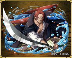 Red hair shanks Red hair pirates big head
