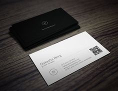 Minimal Business Card Vol. 01 Templates A great business card for almost any kind of company, or even personal use. All text layers can be c by Jorge Lima Vintage Business Cards, Blank Business Cards, Minimal Business Card, Unique Business Cards, Business Brochure, Creative Business, Business Card Maker, Business Card Logo, Business Card Design