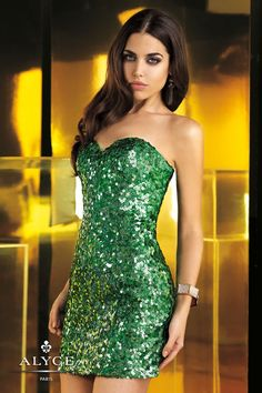 Homecoming Dresess<BR>Evening Dresses by Alyce Paris<BR>4360<BR> Shining Moment!   No Return/Exchange on Sale Dresses