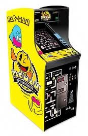 """Pac-Man - Here's an interesting bit of Pac Man trivia, its original name was """"Puck-Man"""" but was changed because company officials feared American kids would swap the """"P"""" with an """"F"""". Good call...."""