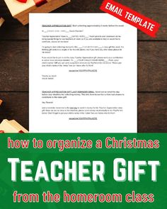 Use this Template to Collect Money for the Class Teacher Gift! | Homeroom Mom Templates | How to Write a Letter to Parents Asking for Money for Teacher Christmas Gifts | Learn how to ask parents for money for teacher gifts with these swipe files. Collect money for a back to school gift, the teacher's birthday, Chiristmas gift, teacher appreciation, or end of year. Plus you'll learn my ninja trick to double your donations!! #roomparent #teachergifts #teacherchristmasgifts