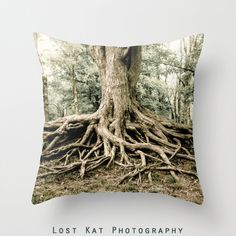 This Gnarled Roots Nature Photo Pillow s a testament to the awesomeness of nature. Camping as much as I do, I see a lot of trees all over the