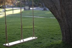 Wooden Swing for Two. $344.00, via Etsy.
