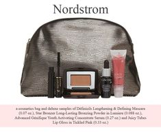 Spend $45 and receive this free 5-pc Lancome gift at Nordstrom. Please note: the gift is not shown on the Nordstrom website, but will be added at checkout. If not, it is out of stock.