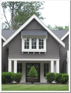 11 Best Grey House White Trim Images Colors Exterior Colors Gray - Gray-and-white-exterior-house