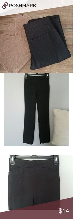 Casual Buisness Pants Joe B casual buisness pants. They are stretchy pants so therefore hugs the body nicely. Dark greyish black color. Size xsmall. In great condition. Joe B Pants