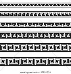 simple embroidery border designs - Google Search