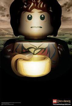 Lord of the Ring legos. Lord of the Ring legos! LORD OF THE RING LEGOS!!!! ~ I've never watched any of the movies. kn