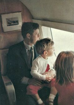 "JFK...Doing What He Seemed To Love Best...Just Being ""Daddy"" To John-John & Caroline..."