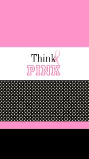 Love all the pink wallpapers for Breast Cancer Awareness!