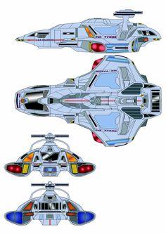 Star Trek Shuttle colorado class