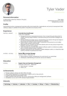 Business Management Resume Samples Impressive Resume Examples After First Job  Resume Examples  Pinterest  Job .