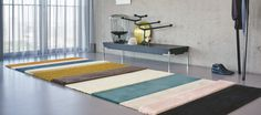 Customized runner, mohair, eucalyptus wool and linen in great colours by longbarn Company