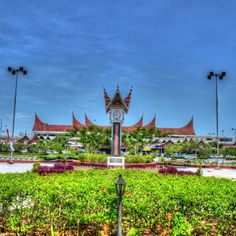 Minangkabau International Airport - Location : Padang, West Sumatera.