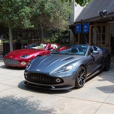 Aston Roadsters Photo by @itscarbonfiber