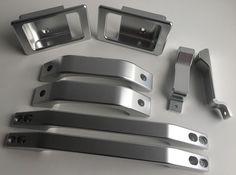 Land Rover Defender Aluminium Handle Kit (Defender 90 / SWB) in Vehicle Parts…
