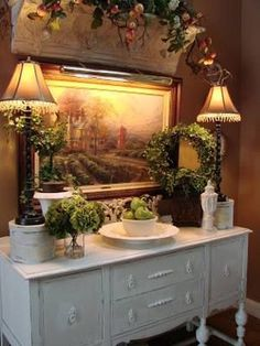 French Country Kitchens, French Country Living Room, French Country Farmhouse, French Country Style, Farmhouse Design, Country Décor, Country Bathrooms, Farmhouse Kitchens, Country Houses