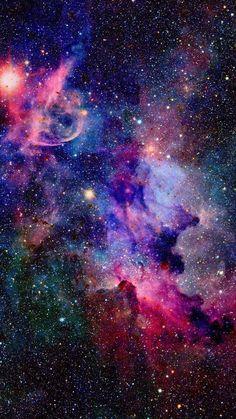Galaxy Universe Milky Way Sky Blue Star Wallpaper Backgrounds