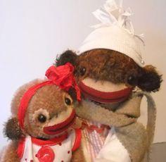 Monkey love by Heidi Steiner
