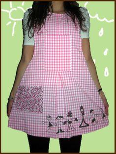 Al corro de las patatas... ...con mi maestra preferida. Maite zaitut andereño First Class, Scrub Tops, Baby Sewing, Scrubs, Sewing Crafts, Summer Dresses, Blouse, Skirts, Babys
