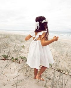 Little Girl Dresses, Little Girls, Girls Dresses, Little Girl Closet, Summer Outfits, Girl Outfits, Summer Memories, Dress Sandals, White Dress
