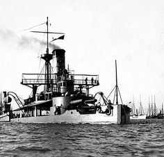 The USS Puritan, ordered in 1874 by Sec. Robeson, actively served during the Spanish American War bombarding Matanzas, Cuba on April 27, 1898.