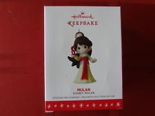 HALLMARK ORNAMENT DISNEY MULAN 2016 LIMITED EDITION MINT IN BOX