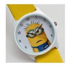Despicable Me minion Cartoon watch