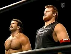 Scott Hall and Mark Calaway (Undertaker) on 'Takers trip to Japan he went by Dice Morgan Nwa Wrestling, Wrestling Stars, Wrestling Superstars, Wrestling Divas, Famous Wrestlers, Wwe Wrestlers, Scott Hall, Wwe Funny, Undertaker Wwe