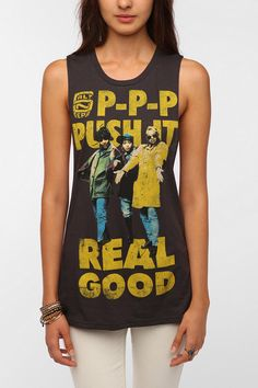 For best friend...we used to be obsessed with this song - Bioworld Push It Real Good Tee  #UrbanOutfitters