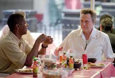 """""""Man on Fire"""" movie still, L to R: Denzel Washington, Christopher Walken. Actor Denzel Washington, Radha Mitchell, Man On Fire, Tony Scott, Fire Movie, Enemy Of The State, Ridley Scott, True Romance, Film Director"""