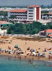Hotel Pato Rojo en Punta Umbria (Huelva).
