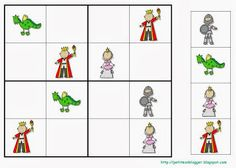 Kindergarten Activities, Activities For Kids, Crafts For Kids, Chateau Fort Moyen Age, Castle Crafts, Make Your Own Game, Castle Project, Sudoku Puzzles, Château Fort
